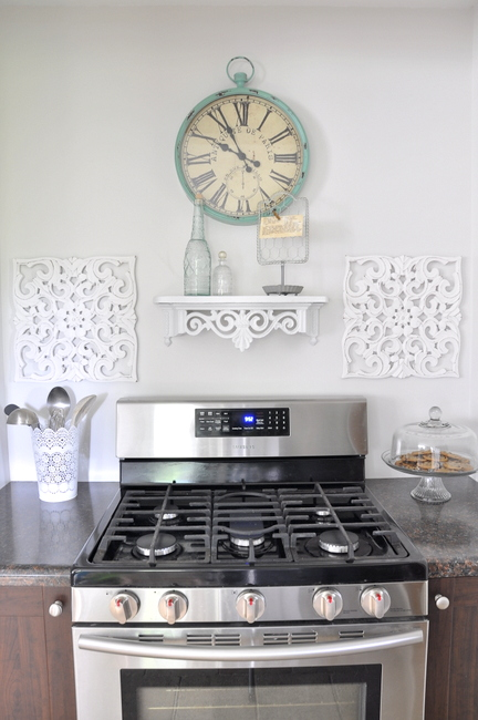 French country stove