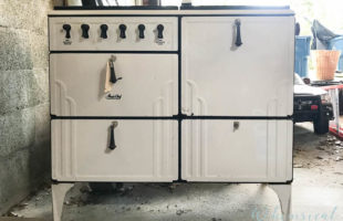 A Vintage Kitchen Stove