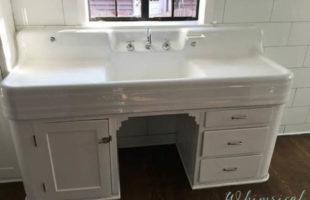 A Vintage Kitchen Sink